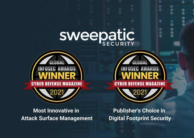"""Sweepatic RSAC-Winner in """"Most Innovative in Attack Surface Management & Publisher's Choice in Digital Footprint Security"""""""